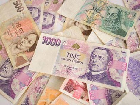 Esk penze - platn bankovky