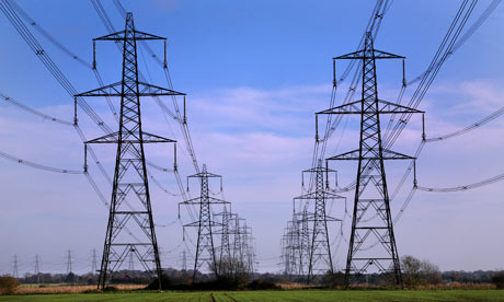 Electricity pylons 1